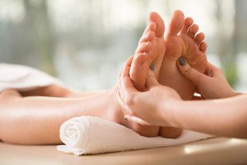 Refleksologia stóp i głowy
